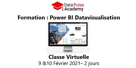 Power BI Datavisualisation - 2 jours - 9 & 10 Février 2021 billets