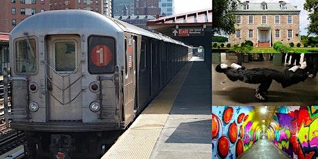 'The Virtual NYC Subway Adventure Series: The 1 Train' Webinar tickets