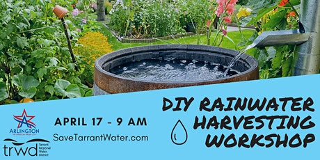 DIY Rainwater Harvesting and Barrel Sale tickets