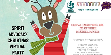 HUG Virtual Christmas Party tickets