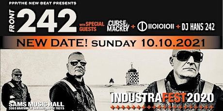 Front 242 with special guests Curse Mackey + IIOIOIOII RESCHEDULED tickets