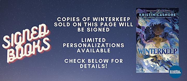 Kristin Cashore: Winterkeep Book Launch! Now with Sarah Enni image