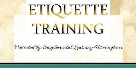 Etiquette & Elegance tickets