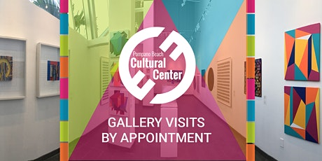 Pompano Beach Cultural Center Gallery Visits by Appointment tickets