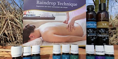 Raindrop Massage Ausbildung Tickets