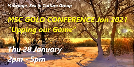 MSC Gold Conference 2021 tickets