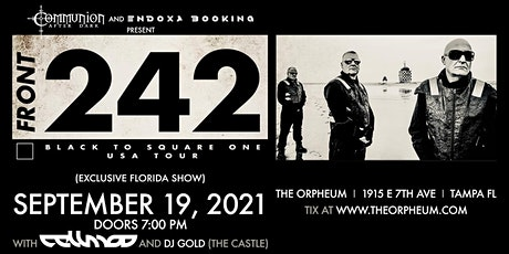 Front 242 @ The Orpheum tickets