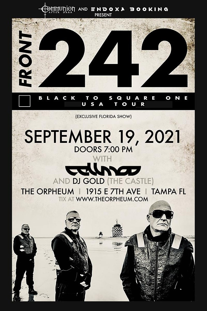 Front 242 @ The Orpheum image