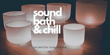 Sound Bath & Chill at AMA tickets