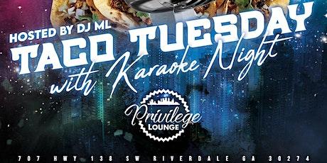 Taco Tuesdays & Karaoke Night tickets