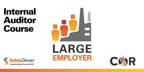 Large Employer Internal Auditor Re-certification - Online - May tickets