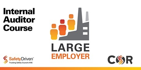Large Employer Internal Auditor Course - Online - Sep tickets