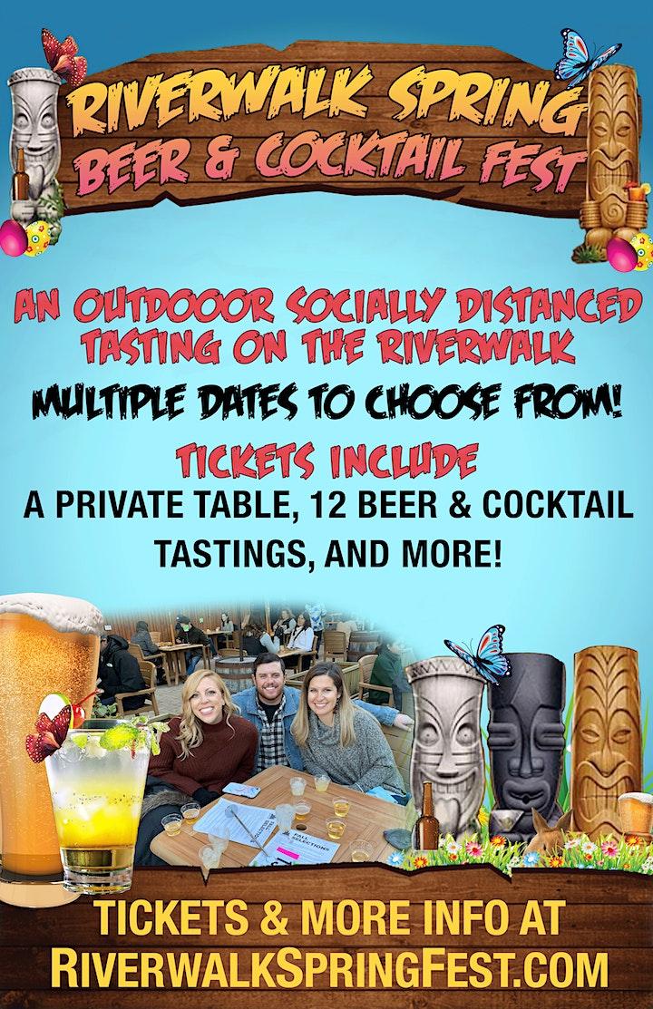 Riverwalk Spring Beer & Cocktail Fest - An Outdoor Tasting Experience image