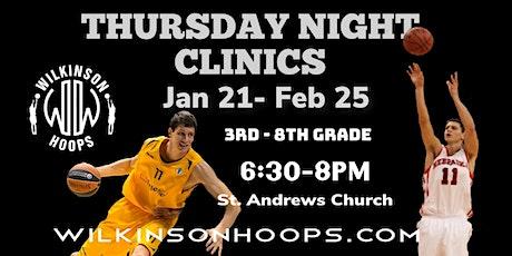 Thursday Night Shooting Clinics tickets