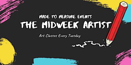 The Mid Week Artist - Virtual Art Class tickets