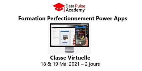Power Apps Perfectionnement - 2 jours - 18 & 19 Mai 2021 billets