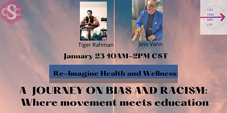 A Journey on Bias and Racism: Where Movement Meets Education tickets