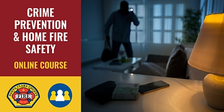 ONLINE Course: Crime Prevention & Home Fire Safety - Cupertino tickets