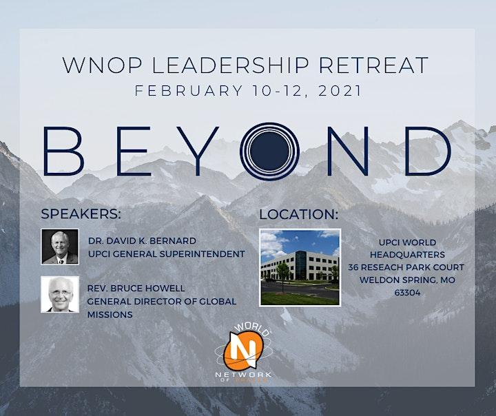 World Network of Prayer Leadership Retreat 2021 image