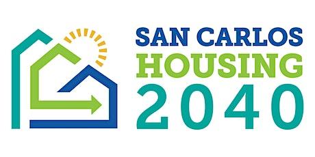 San Carlos 2040- Workshop 2 biglietti