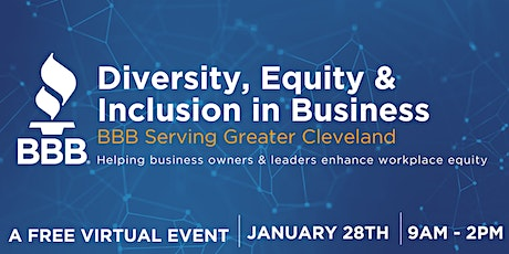 Diversity, Equity and Inclusion in Business tickets