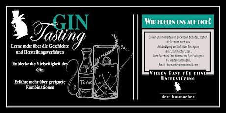 Der Hutmacher Gin Tasting Tickets
