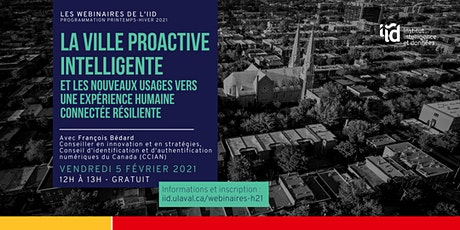 La ville proactive intelligente billets