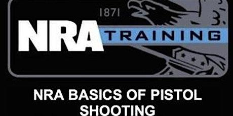 NRA Basic Pistol tickets
