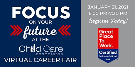 Child Care Associates Virtual Career Fair tickets