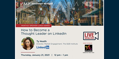 How to Become a Thought Leader on LinkedIn tickets