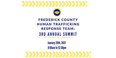 Frederick County 3rd Annual Human Trafficking Summit tickets