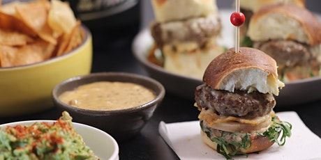"""In the Kitchen"" with Bricoleur - Super Bowl Eats - Sliders, Chips & Dips tickets"
