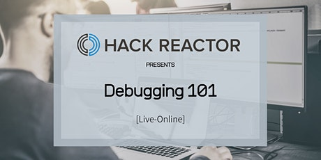 Debugging 101 [Live-Online] tickets