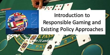 Introductionto Responsible Gaming and ExistingPolicy Approaches tickets