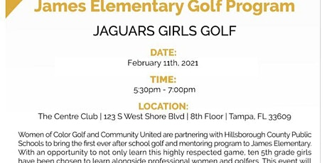 Women of Color Golf Helping Hands  Fundraiser - Rescheduled to  2-11-2021 tickets