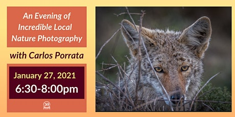 Incredible Nature Photography with Inverness Photographer Carlos Porrata tickets