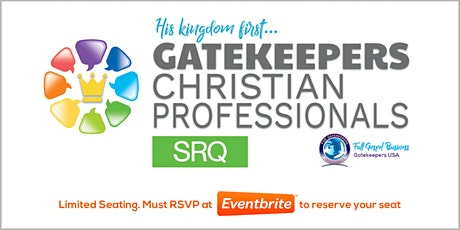 Gatekeepers - Christian Professionals Meeting SRQ 2/2/2021 tickets