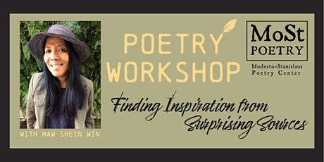 Poetry Workshop with Maw Shein Win tickets