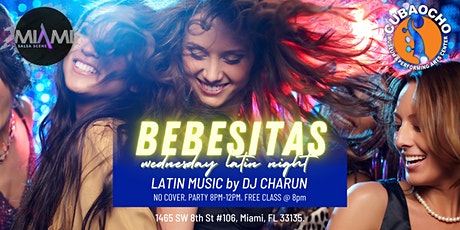 Bebesitas Wednesdays at Cubaocho ft Dj Charun tickets