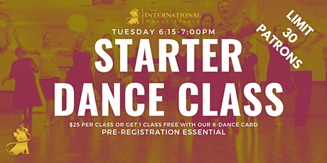 [FEB] Join 4 Adult Starter Ballroom & Latin Dance Classes! tickets