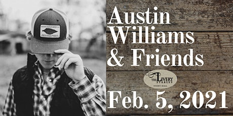 Austin Williams & Friends:  Concert & Meal tickets