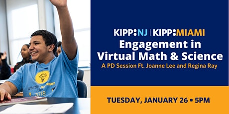 Engagement in Virtual Math  & Science- Remote Learning Tips for Teachers PD tickets