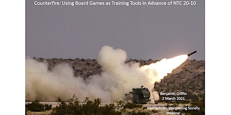 Counterfire: Using Board Games as Training Tools tickets