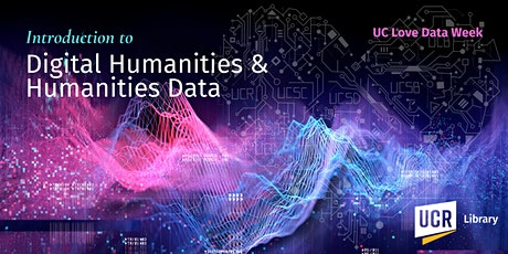Introduction to Digital Humanities and Humanities Data tickets