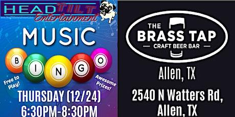 Music Bingo at The Brass Tap - Allen, TX tickets