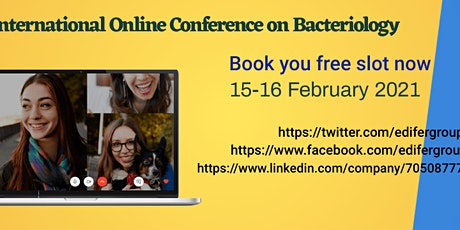 International Online Conference on Bacteriology tickets