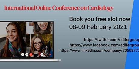 International Online Conference on Cardiology tickets