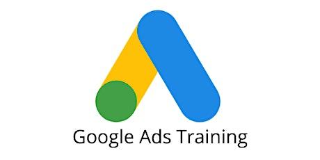4 Weeks Google Ads, Google AdWords training course Peabody tickets
