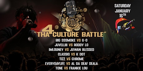 4THE CULTURE tickets