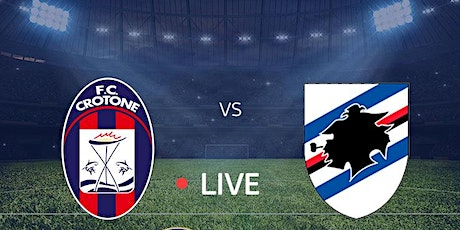 STREAMS@!.Sampdoria - Crotone in. Dirett Live 19 Dec 2020 tickets